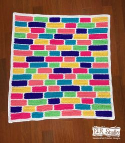 Southern Candy Bricks Blanket