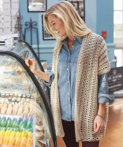 Two-Rectangle Cardigan