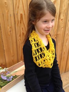 Honeycomb Kid's Cowl