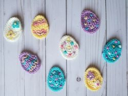 Easter Egg Applique