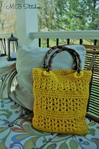 Sunny Yellow Tote