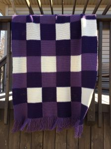 Lavender Throw