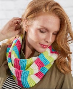 Striped Cowl