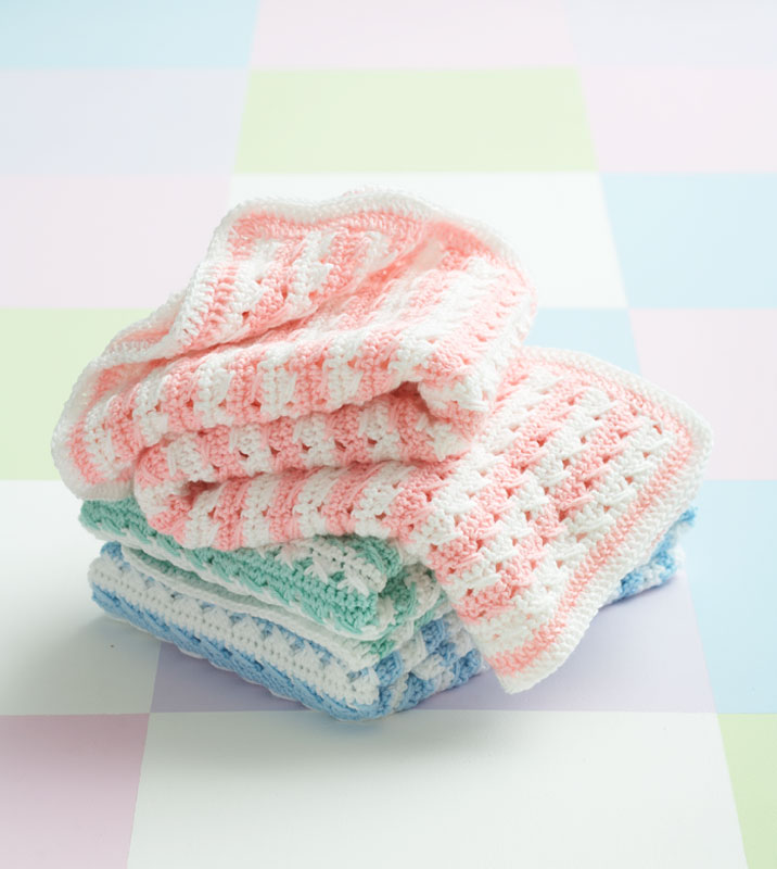 Crochet Patterns Galore Crochet Stripes Blanket