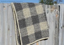 Neutrally Gingham Baby Blanket