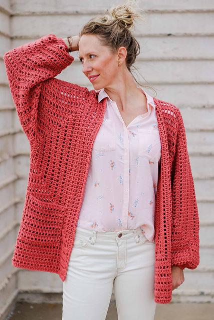 Crochet Patterns Galore Day Date Cardigan