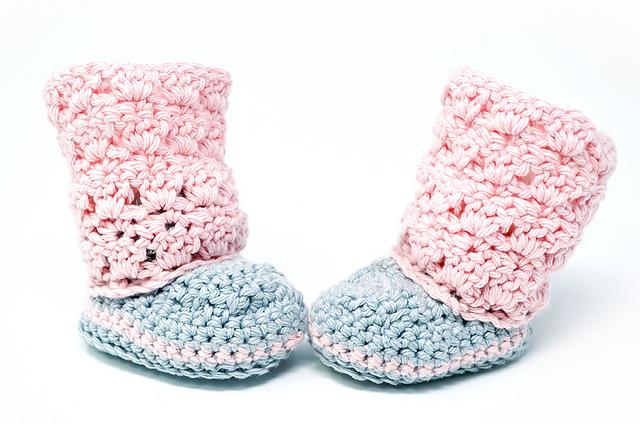 Crochet Patterns Galore - Primrose Baby Boots