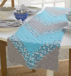 Summer Chevron Table Runner