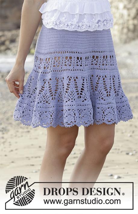 Crochet Patterns Galore Queensland Skirt