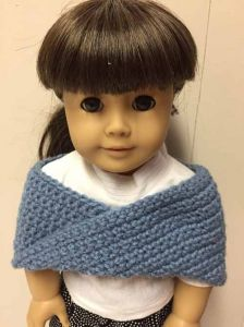 American Girl Doll Shoulder Wrap