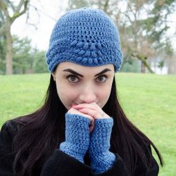 Ripple Hat and Mitts