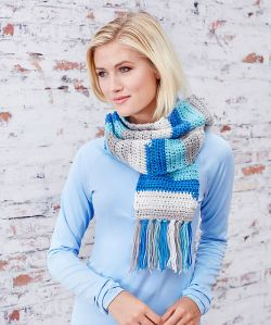 Self Striping Scarf