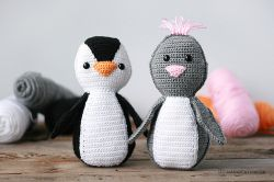 Simple Amigurumi Penguin