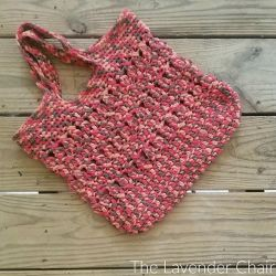 Crossed Bobble Tote