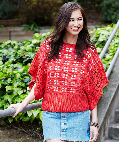 Crochet Patterns Galore Clementine Chic Sweater