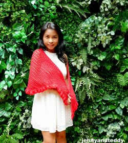 Date Night Ruffle Shawl