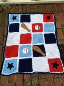 Play Ball Blanket