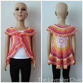 Crochet Patterns Galore Chrysanthemum Circular Vest