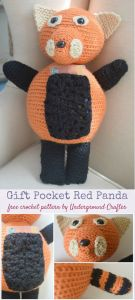 Gift Pocket Red Panda