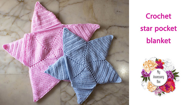Crochet Patterns Galore Baby Star Blanket Wrap Cozy