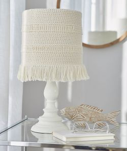Coastline Lampshade Cover