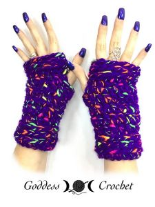 Totally Teen Fingerless Gloves