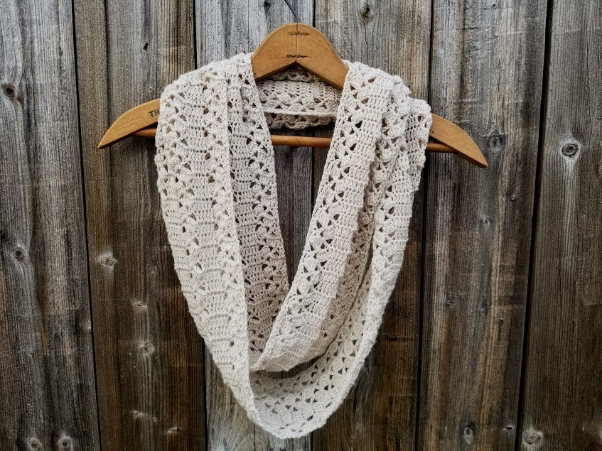 Crochet Patterns Galore Rustic Lace Scarf