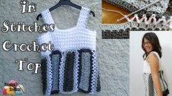 In Stitches Crochet Top