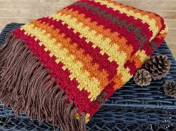 Fall Foliage Afghan