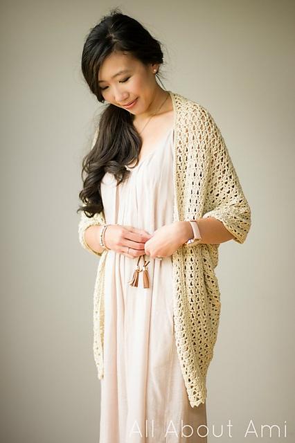 Crochet Patterns Galore Calla Lily Cardigan