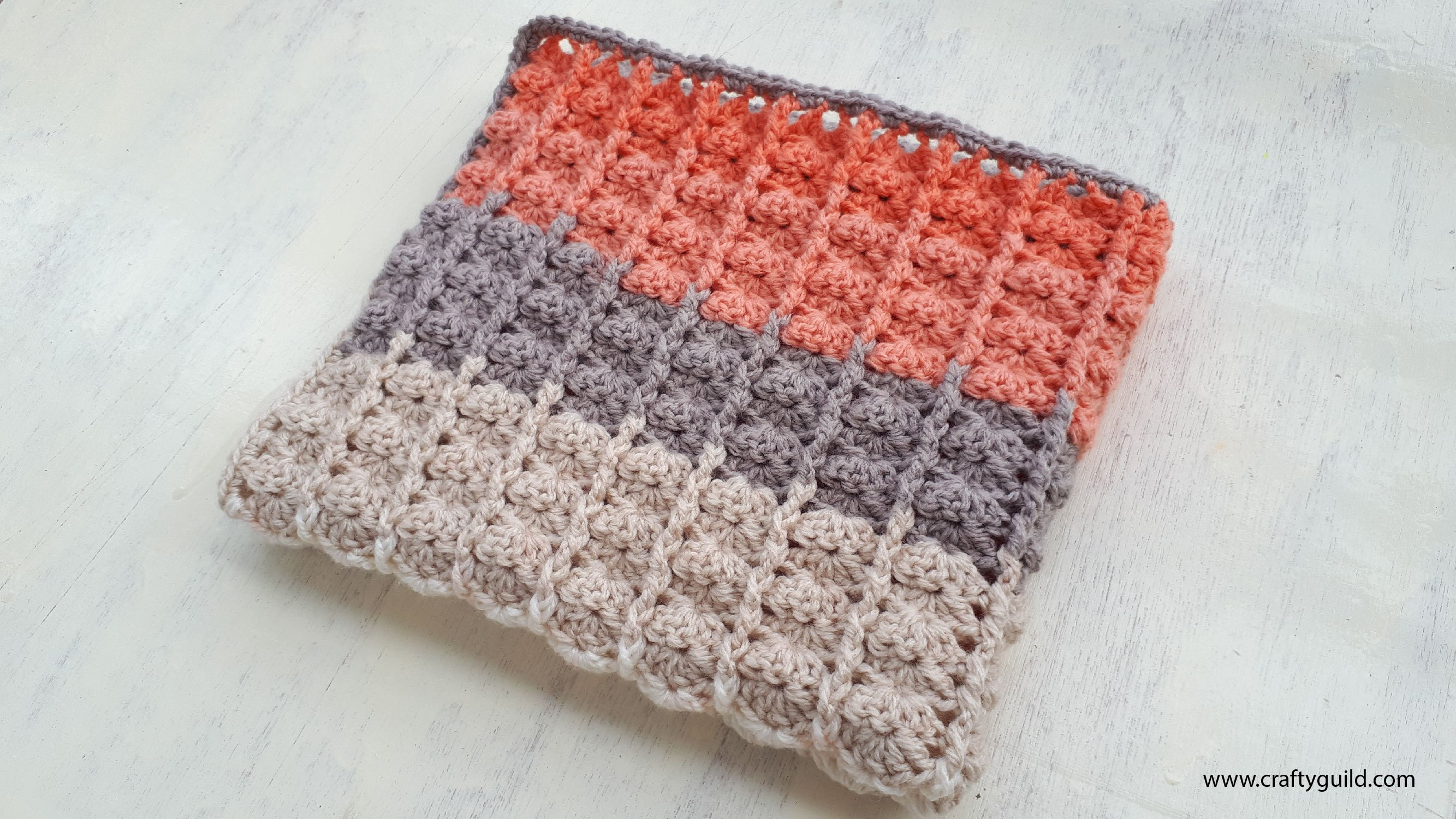 Crochet Patterns Galore - 1 BALL CARON CAKE BABY BLANKET