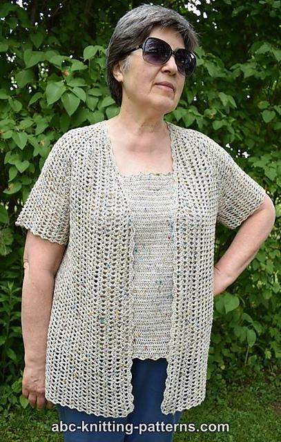 24e5e80434b0 Crochet Patterns Galore - La Loire Summer Cardigan