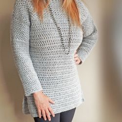 Mesh Stitch Sweater