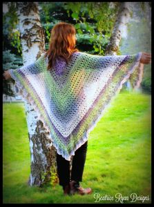 Amazing Grace Angel Wing Shawl