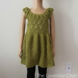 Valerie's Vintage Rounded Yoke Dress