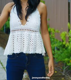 Dolly Ruffle Top