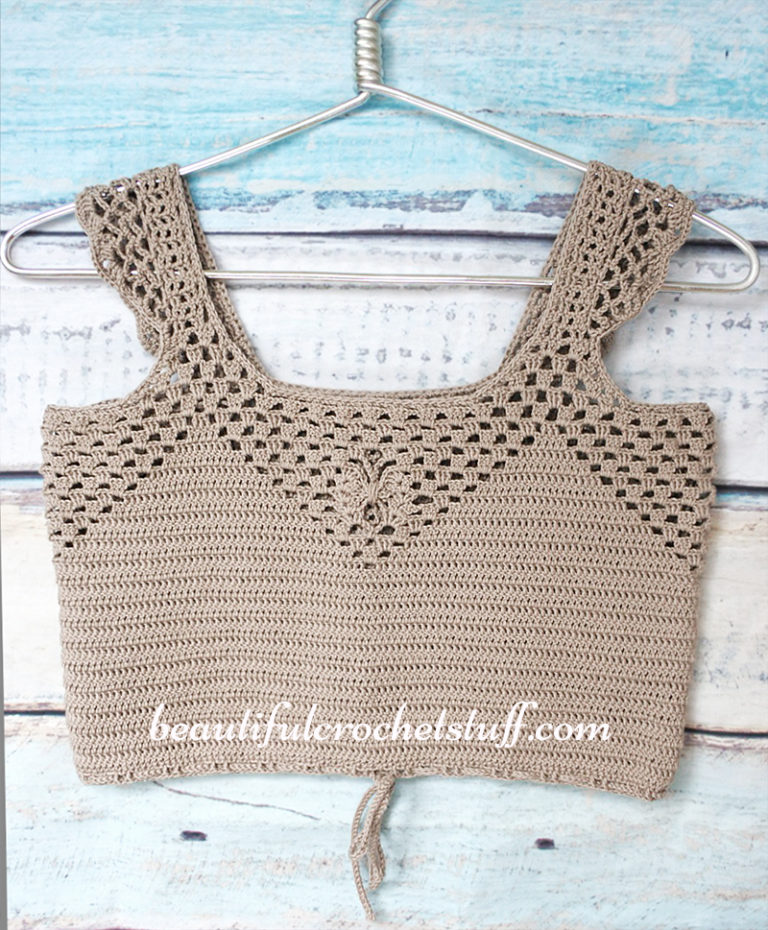 Crochet Patterns Galore Crochet Crop Top Free Pattern Forever 21