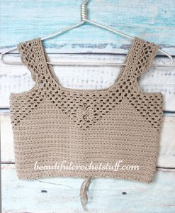 Crochet Crop Top Free Pattern (Forever 21 Style)
