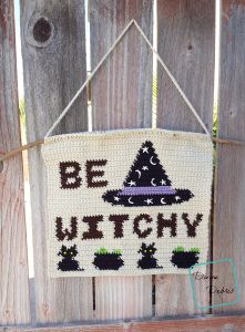 Be Witchy Wall-Hanging