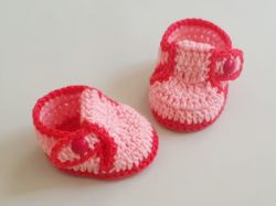 How To Make Crochet Baby Booties/Shoes