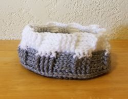 Basketweave Basket