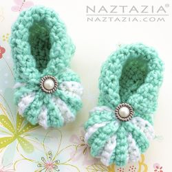 Simple Baby Booties