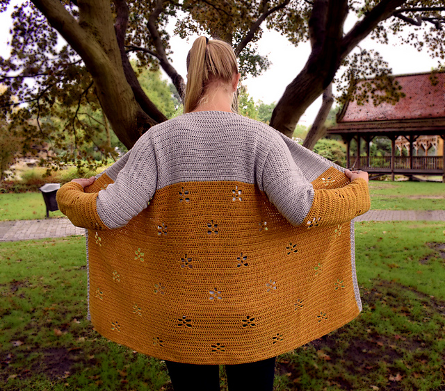 Crochet Patterns Galore Maple Leaf Cardigan