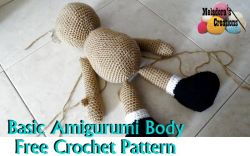 Basic Amigurumi Doll Body