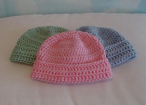 Crochet Patterns Galore Slk Baby Hat