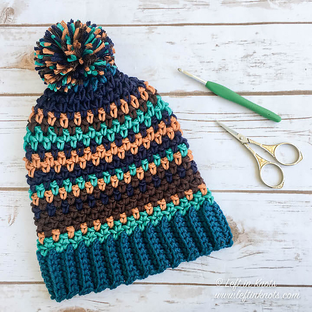 Crochet Patterns Galore Moody Pumpkins Slouch Hat