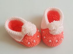 Easy Baby Cuffed Booties