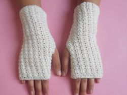 Super Fast Easy Crochet Gloves