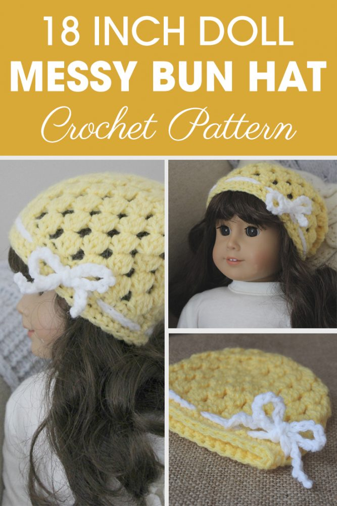 Crochet Patterns Galore 18 Inch Doll Abby Slouch
