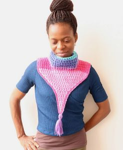 Merry Berry Collar Cowl